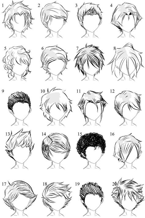 anime hairstyles ideas anime male hair i always need more ideas art tips