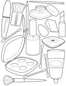 makeup coloring pages to and print for free
