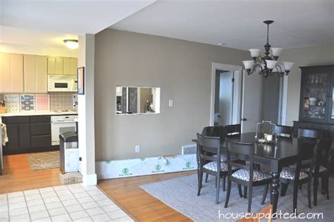 Moving Kitchen Into Living Room Tearing And Moving Kitchen Walls House Updated