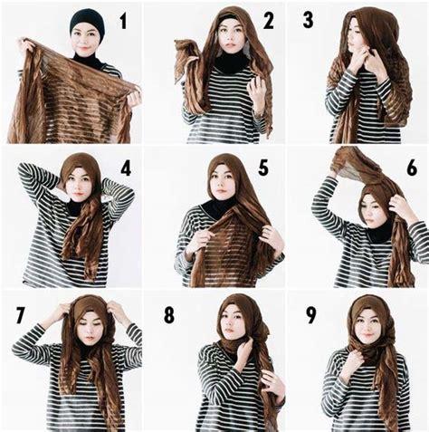 Segi Empat Silk Butterfly modern styles step by step tutorials 2018 fashionglint