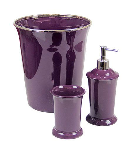 purple bathroom accessories set 1000 ideas about purple bathrooms on pinterest bathroom