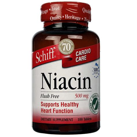 How Does A Niacin Flush Detox The by Schiff Flush Free Niacin 500 Mg 100 Tablets Evitamins Uk