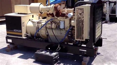 kw kohler diesel generator set  cummins engine youtube