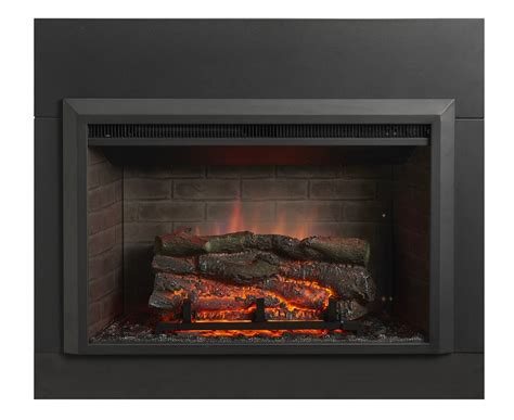 36 quot gallery collection zero clearance electric fireplace