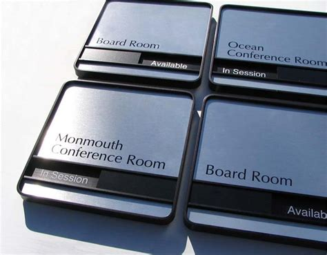 room name signs conference room signs sliding availability office signs room signs