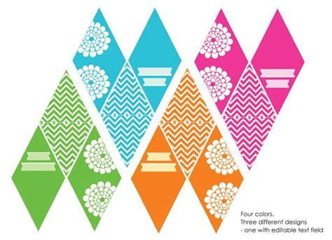 printable bunting flags free 1000 images about free banners on pinterest