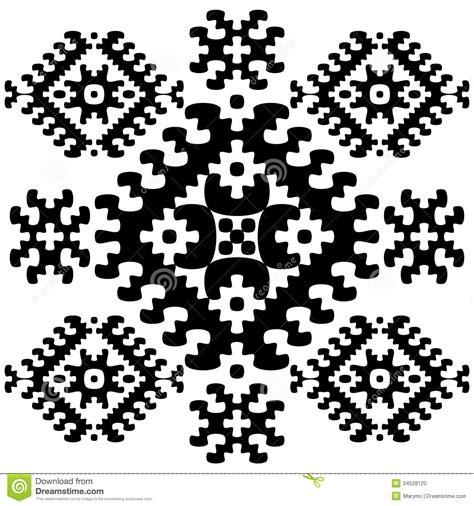 ethno pattern white grayscale seamless ethnic pattern background stock photo