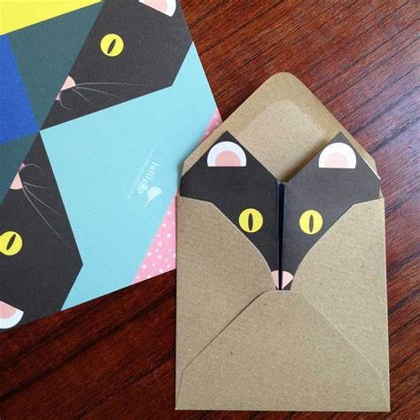 How To Make Cat With Paper - cat writing paper