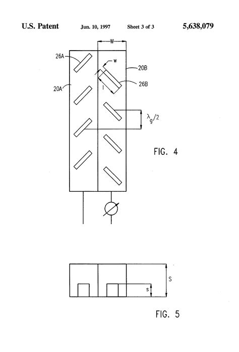 patent us5638079 slotted waveguide array antennas patents