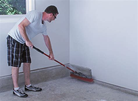 the secret to a great garage start with the floor in