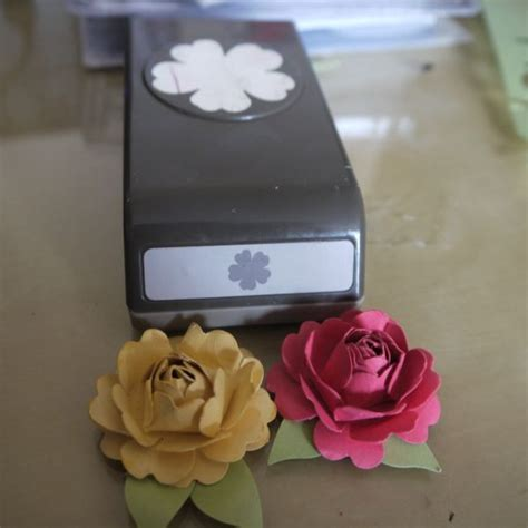 How To Make A Paper Punch - 61 best images about stin up paper flowers punch