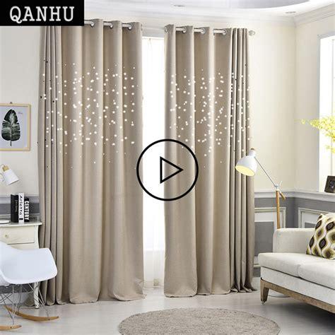 camere da letto di qualità qanhu moderna stelle tende della finestra per soggiorno