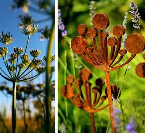 parsley garden sculptures metal garden sculpture
