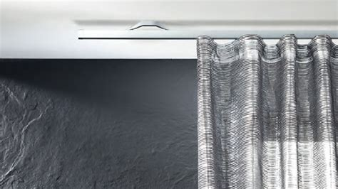 gardinensysteme decke interstil gardinenstangen schienensysteme