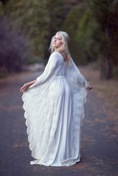bohemian wedding dress hippie bohemian gown by