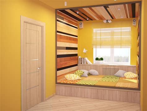 sleeping nook   Interior Design Ideas.