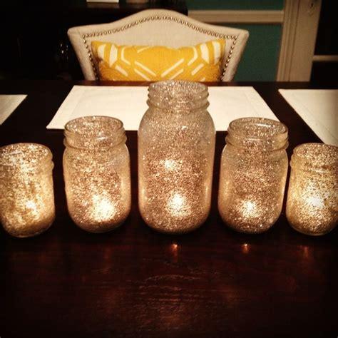 diy gold glitter jars gold glitter jar tea lights diy gold