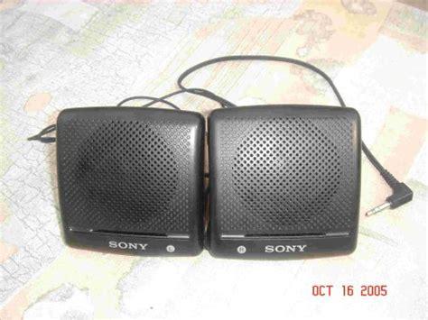 Speaker Mini Sony computer speakers sony srs 7 portable mini speakers for