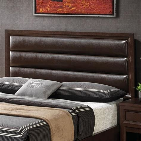 wood king size headboard coaster 202311kwh brown california king size wood