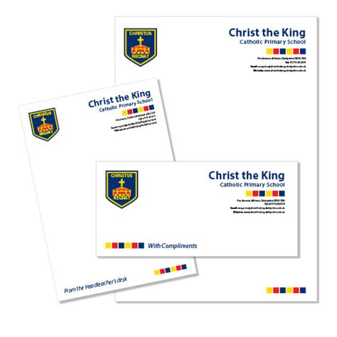 King S College Letterhead School Letterhead The King Catholic Primary School