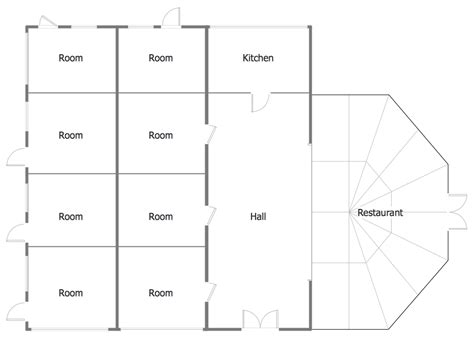 conceptdraw sles building plans floor plans