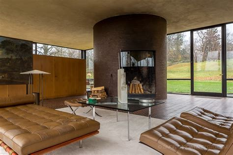 philip johnson glass house interior philip johnson glass house new canaan e architect