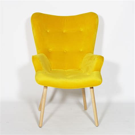 Fauteuil Vintage Jaune by Fauteuil Style Scandinace Vintage Jaune Made In Meubles
