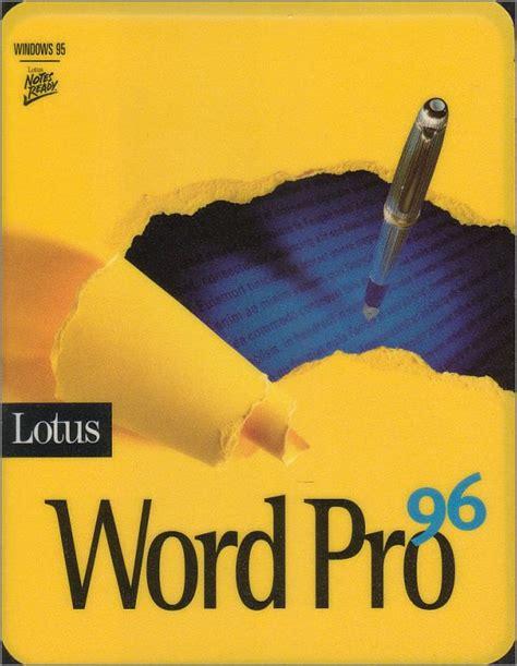 ibm lotus word pro cuatro programas esenciales para tu pc en los 90 s