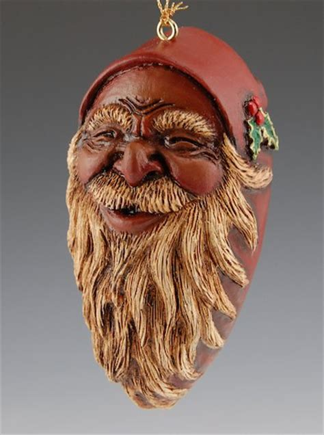 black santa claus ornament santa claus figurines and