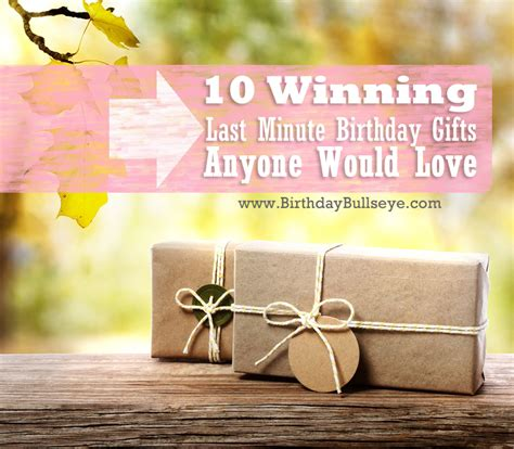 10 winning last minute birthday gifts that anyone would
