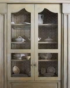 chicken wire doors betty burgess country decor black