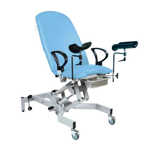 medical couches sunflower medical fusion gynae1 cool blue gynaecology