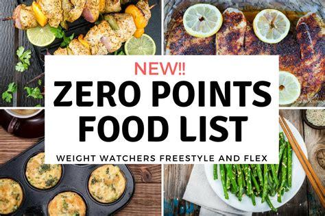 fruit zero points weight watchers new weight watchers zero points food list freestyle plan