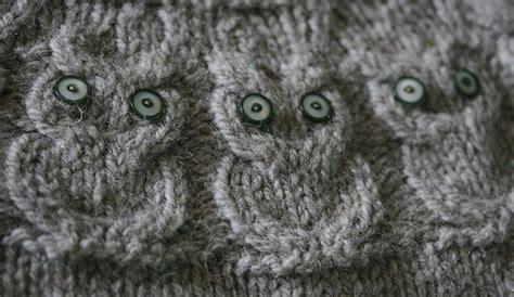 knitting pattern owl sweater o w l s the pattern kate davies designs