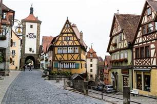 Beautiful Small Towns In America rothenburg germany an enchanting medieval town