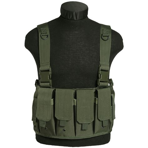 chest carrier mil tec mag carrier chest rig olive chest rigs 1st