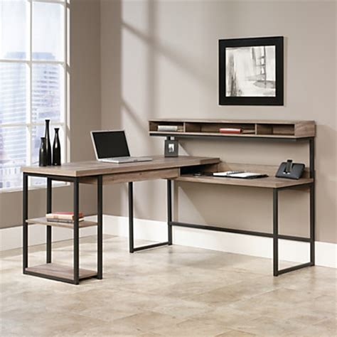 sauder transit collection multi tiered l shaped desk sauder transit collection multi tiered l shaped desk