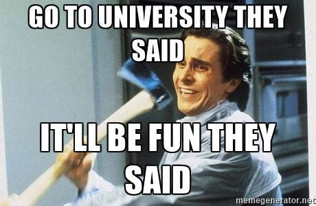 Uni Student Memes - 10 student memes that perfectly define attending