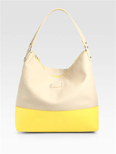 Gryson Shoulder Bag The Bag Snob 2 by Kate Spade Grayson Hobo Shoulder Bag In Yellow Yellow