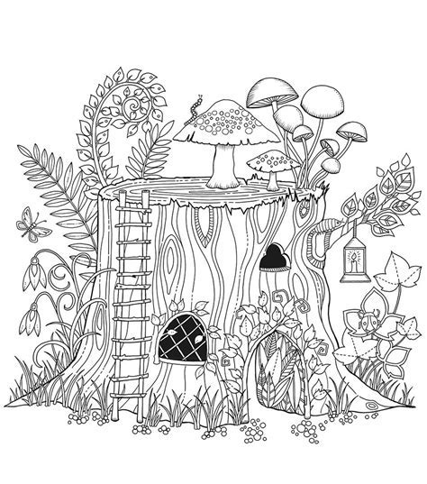 Chronicle Books Enchanted Forest Coloring Book JoAnn JOANN