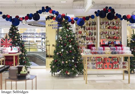 christmas trees at selfridges selfridges opened its shop in this july underthechristmastree co uk