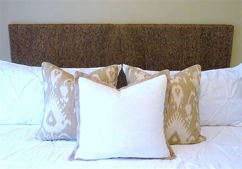 diy seagrass headboard 17 best ideas about seagrass headboard on pinterest