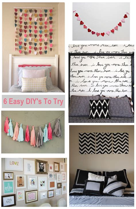 cheap diy bedroom ideas 6 diy bedroom wall art ideas shopgirl