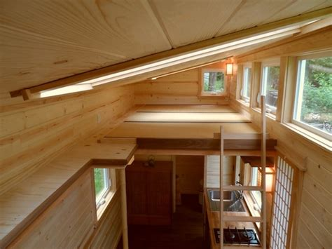 tiny house with loft your own tea room in a 134 sq ft japanese tiny home