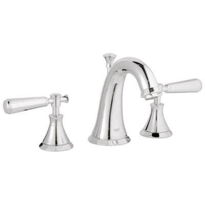 Kensington Brass Faucets by Grohe Kensington 8 In Widespread 2 Handle Mid Arc
