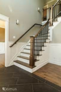 stairs how to replace banister newel post handrail and