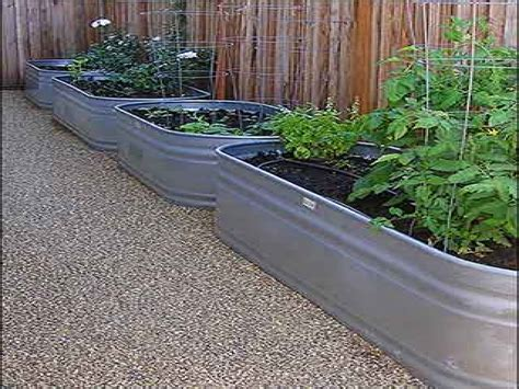 Galvanized Water Trough Galvanized Water Trough Garden Water Trough Planter