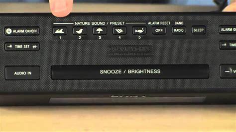 sony icf  clock radio youtube