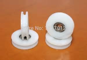 rv shower door rollers shower door roller runners 30pcs 608zz v groove roller