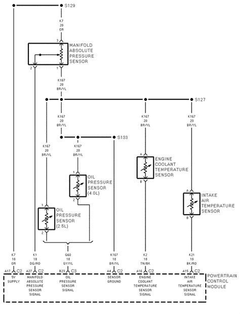 1997 jeep wrangler engine wiring diagram efcaviation